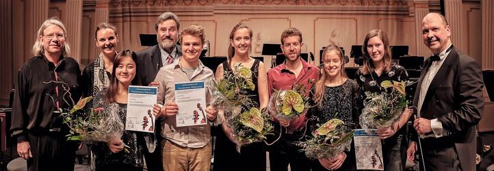 Die Meisterkurs-Preisträger 2017 / Foto: Jan Bräue