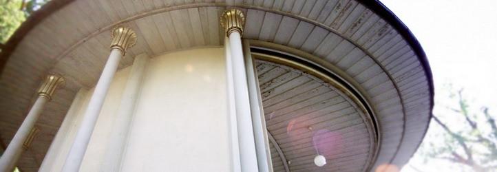 Impression eines Pavillons